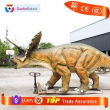 Made in Zigong youtube video playing life-size robotic dinosaur