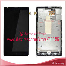 Lumia 1520 LCD Display + Touch Screen Digitizer + Frame black for Nokia