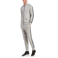 Latest Design French Terry Custom Cheap Thailand Quality Gym Tracksuit Set