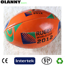 mini size outdoor sport brand logo hot sale hand sewing rugby ball