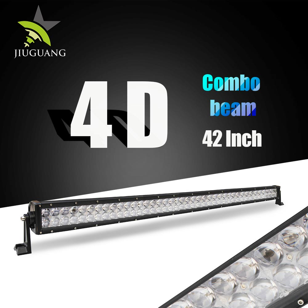 Aluminum Housing Flood Auto 240w 42inch Jeep 4X4 LED Light Bar offroad truck