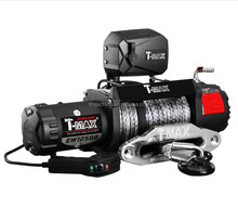 T-max X-power off-road winch 12500LBS electric winch with SYNTHETIC ROPE