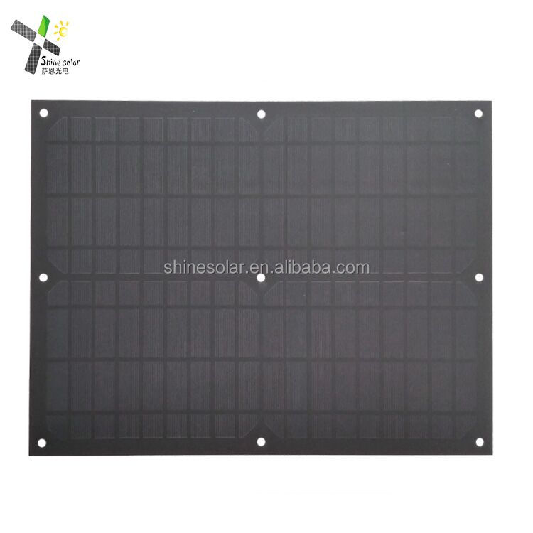 12v 20w solar panel mini PET laminated mono solar panel module with high quality solar cell