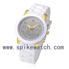 Alibaba express free samples shipping silicone fancy quartz wrist watch