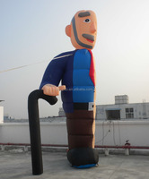 Inflatable Old Man 2.7m Half Abraham Balloon