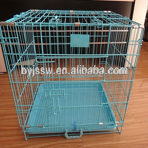 Welded Wire Panel Metal Folding Dog Crate With Good Price