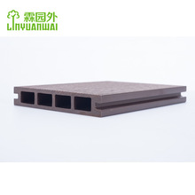 lyw graceful capped outdoor wood plastic outdoor composite wpc decking flooring