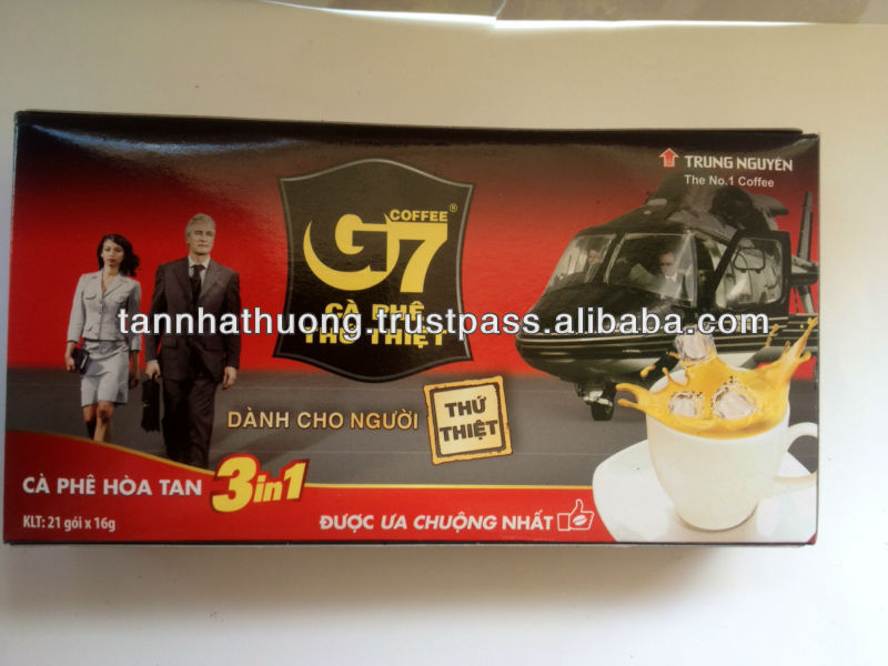 Instant Coffee G7 in box (16grx21)
