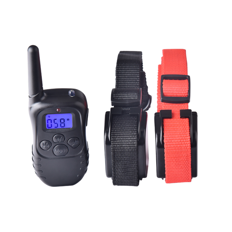 Manufacture direct delivery 300 meters remote control eco-friendly small dog training collar