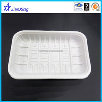 Disposable plastic meat trays
