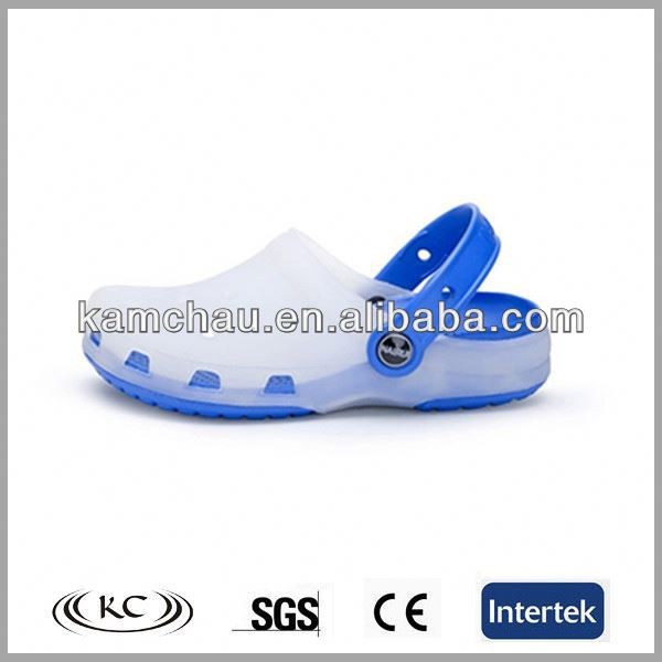 White anti slip hospital clog shoes/ nurse clogs/rubber clogs