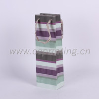 OEM manufacturer paper wine bags gift packet