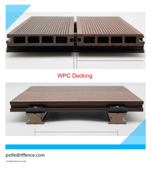 DIY wpc decking tile outdoor tile for balcony swimming pool bathroom floor,friendly decking