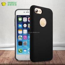 2017 hottest and high quality Silky Liquid Silicone Mobile Phone Case for iphone 7 Case