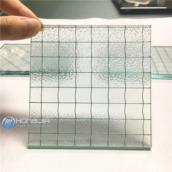 China manufacturer clear wired glass prices