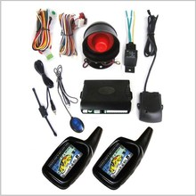 Best price ! Two way car alarm with Anti-hijack, Auto-rearming and Car Finder function system