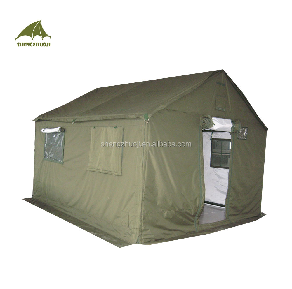 3x4M olive green winter 6 persons tent
