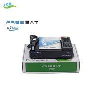 Original V7 MAX full HD dvb-s2 V7 MAX HD Satellite Set Top Receiver Support powervu biss key cccam network card sharing