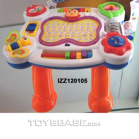 Newest 2 in 1 educational table kids study desk toys