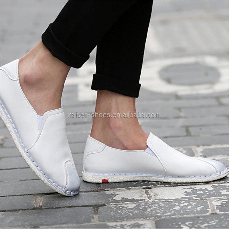 2017 high fashion men shoe shallow flats loafer shoe