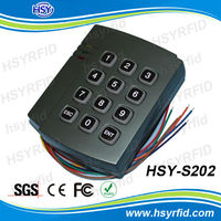 RFID access control reader stand alone keyboard smart card reader