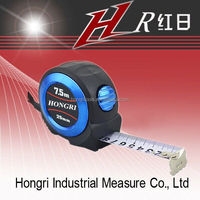 New Mould rubber coating measuring tape, First class & strong magnetic, auto lock professional tape measure