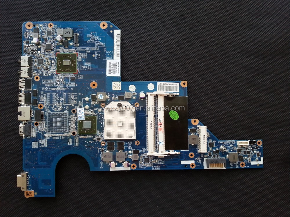 High quality Laptop motherboard For HP CQ62 G62 597674-001 laptop motherboard,system board