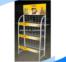 Direct Distributor Advertising Display Stand for milk tea