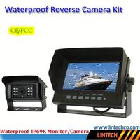 Made in China waterproof wide view angle caravan wired auto accessory reverse camera kits