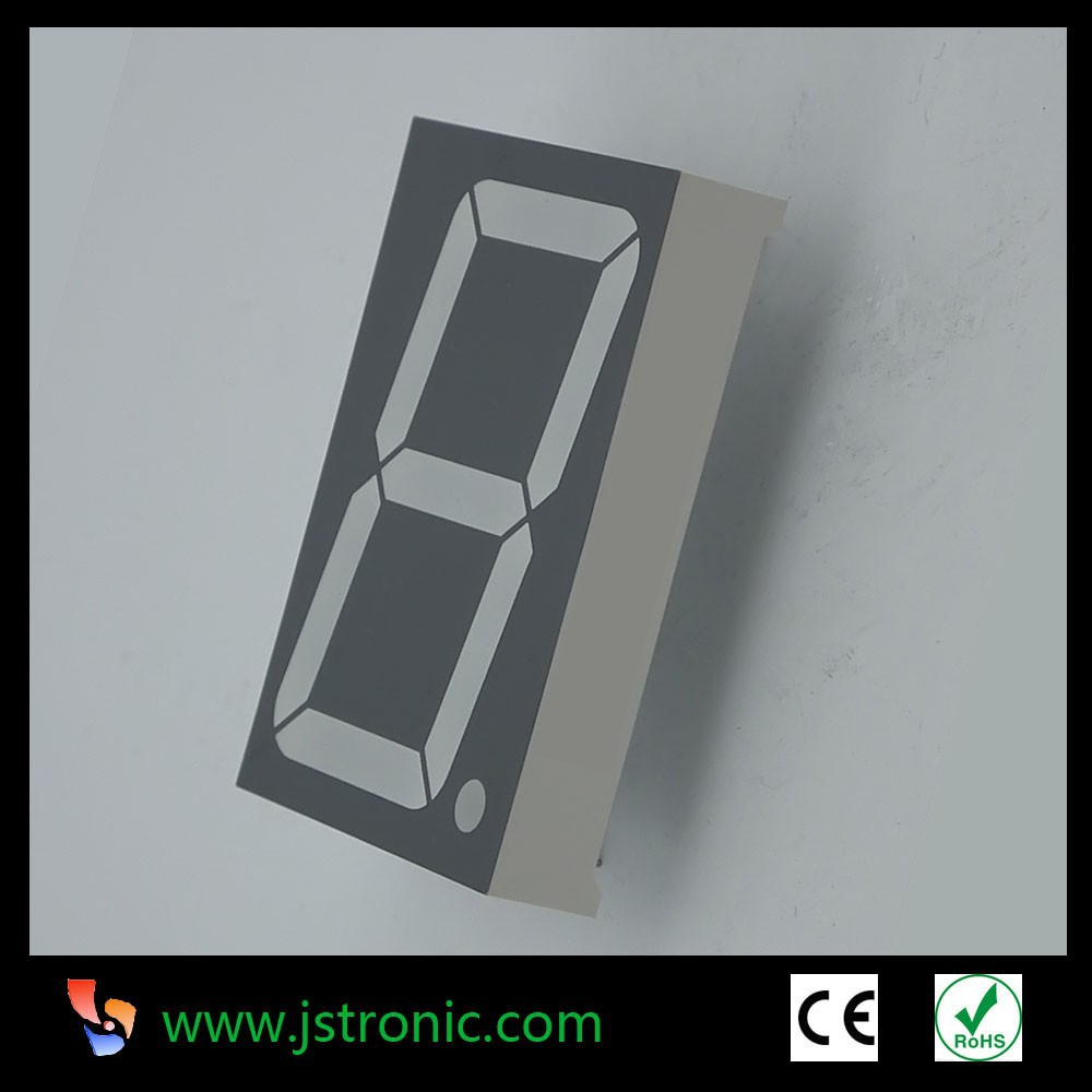 1.5 inch one single digit 7 segment LED display clock display