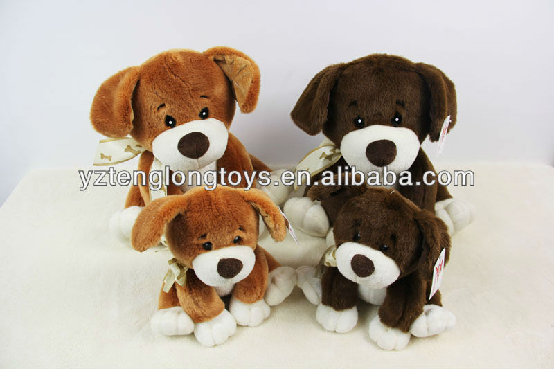 Super soft stuff toy&plush dog & plush dog toy