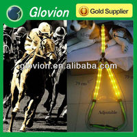 HOT SALE luminous horse halter Glow in the dark horse harness LED flashing light up nylon horse halter