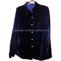 Velvet Shirts-Fashion Velvet Shirts-OEM Velvet Shirts-2014 New Design Velvet Shirts