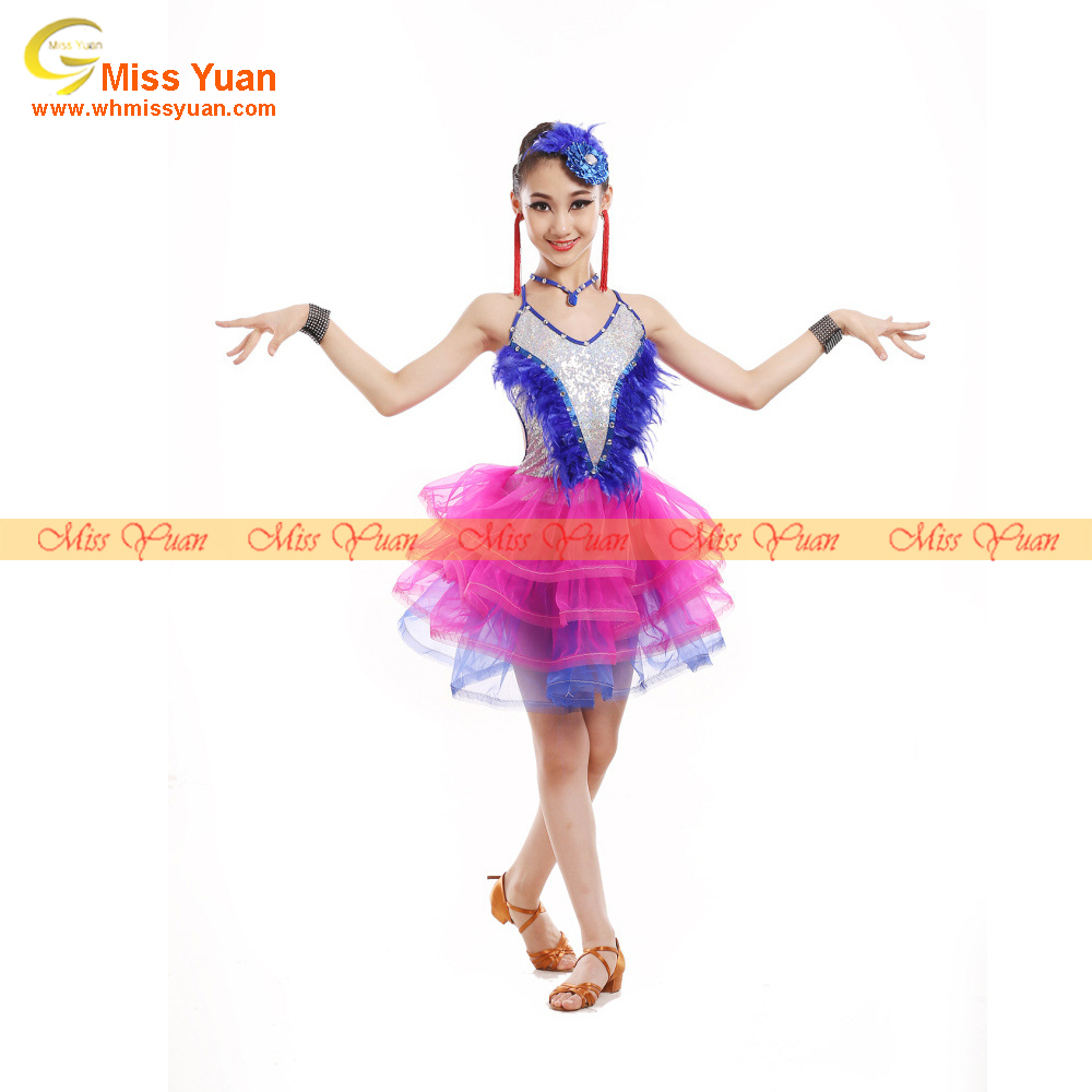 2017 Hot sale top quality lyrical dance costume dress