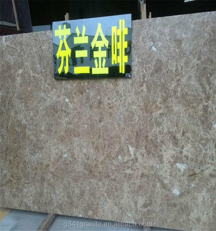 Coffee Brown Marble Golden Sea Marble Slab Price Cheap Brown Marble