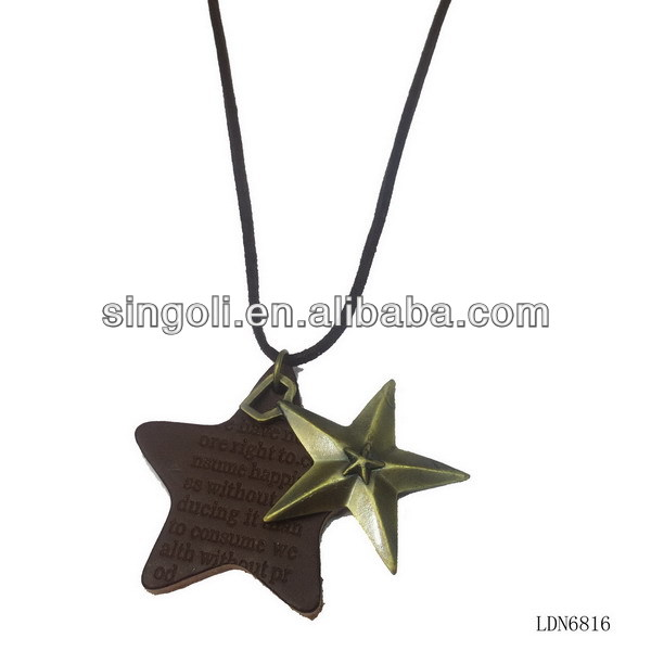 Vintage Star Pendant Gift High School Graduation Tips Unisex Gift Fashion Jewelry