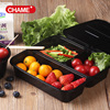 food grade take away compartment plastic to go bento box