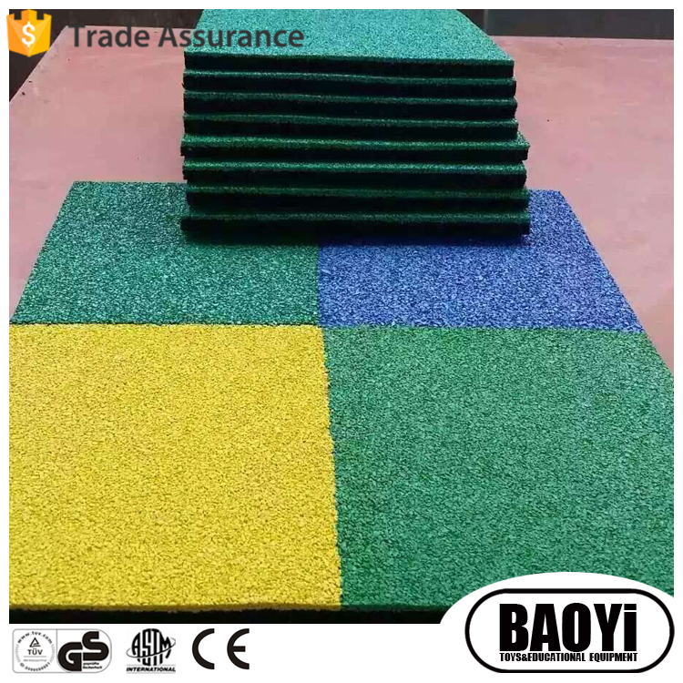EPDM powder rubber flooring mat for outdoor sports court