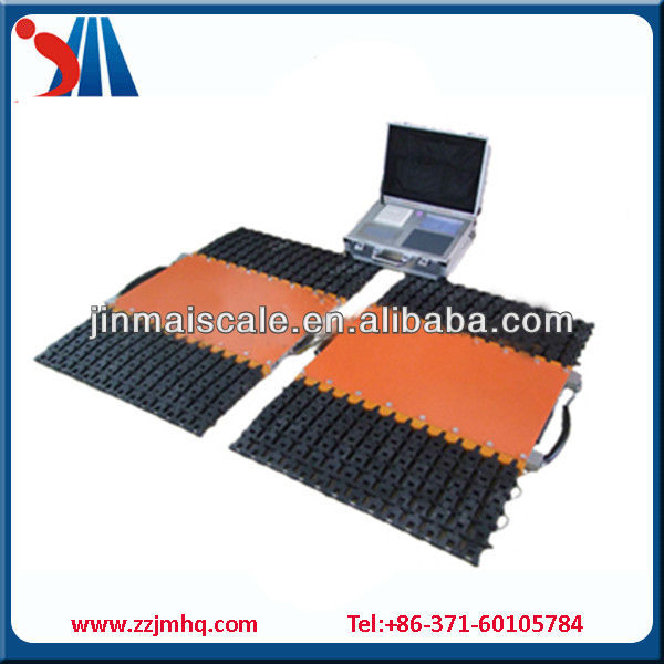 Electronic Axle Weighing Pad/Axle Weighing Scale 10ton
