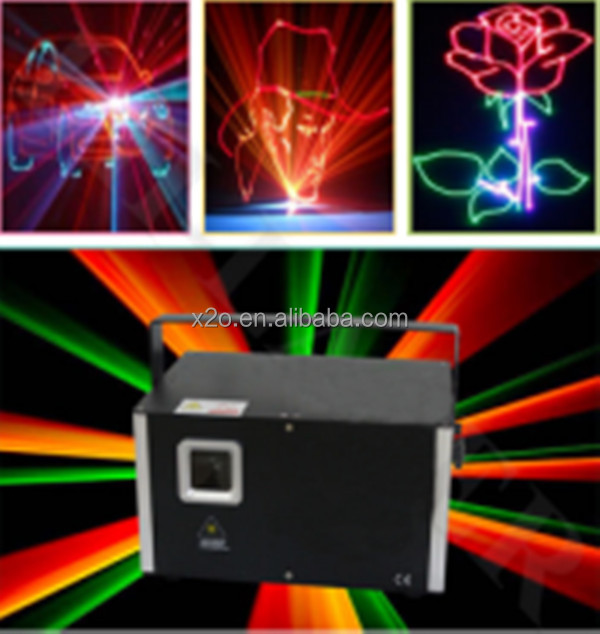 2018 new items environmental fireworks graphic 1000mW DJ laser light with great price