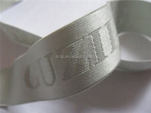 Factory sale underwear woven shiny customized stripe elastic band