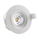 new warm dim fireproof Norwegian cutout 83mm led downlight 0-100% dimming 2700k 3000k 5000k gyro 360deg tilt ip44