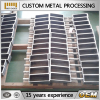 sheet metal fabrication sample / steel metal fabrication