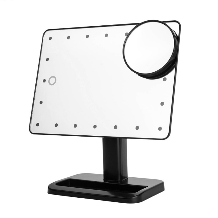 Sensor Touch Desktop LED Mirror Lighting Makeup Mirror, Cosmetic Mirror With LED Lights