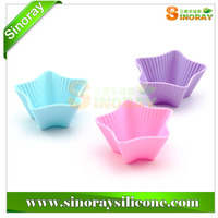 Silicone cupcake holder