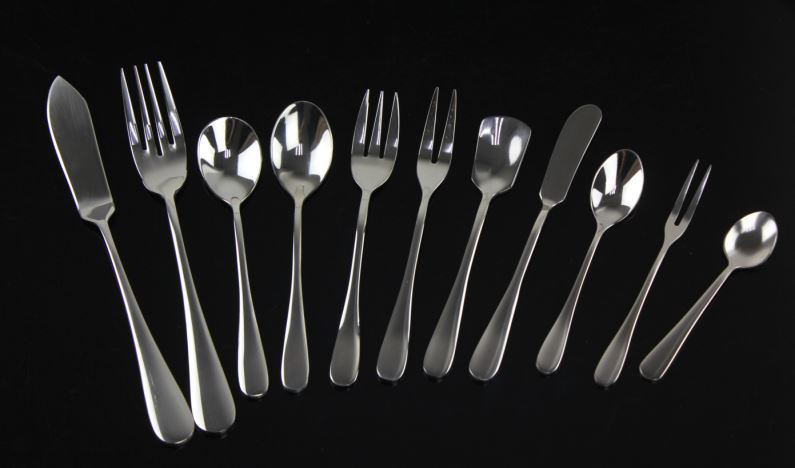 high grade quality high quality stainless steel flatware types of hotel cutlery