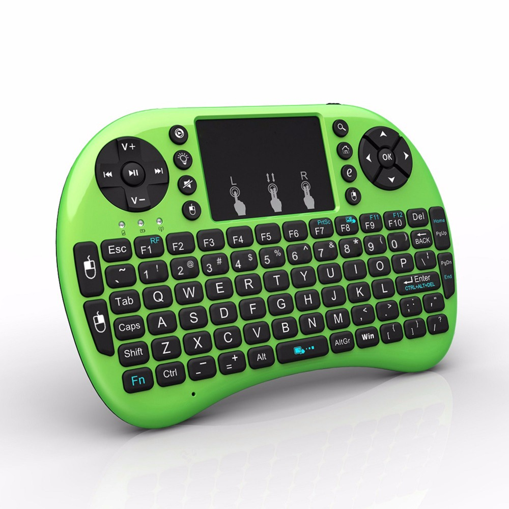 mini i8-BT Bluetooth backlit Wireless Keyboard for Apple OS Computer PC Smart TV