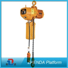 3m Standard 1Ton Manual Hoist with Automatic Platform
