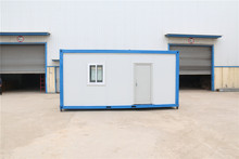 neopor prefabricated modern frame  competitive price Trade Assurance 20ft container house