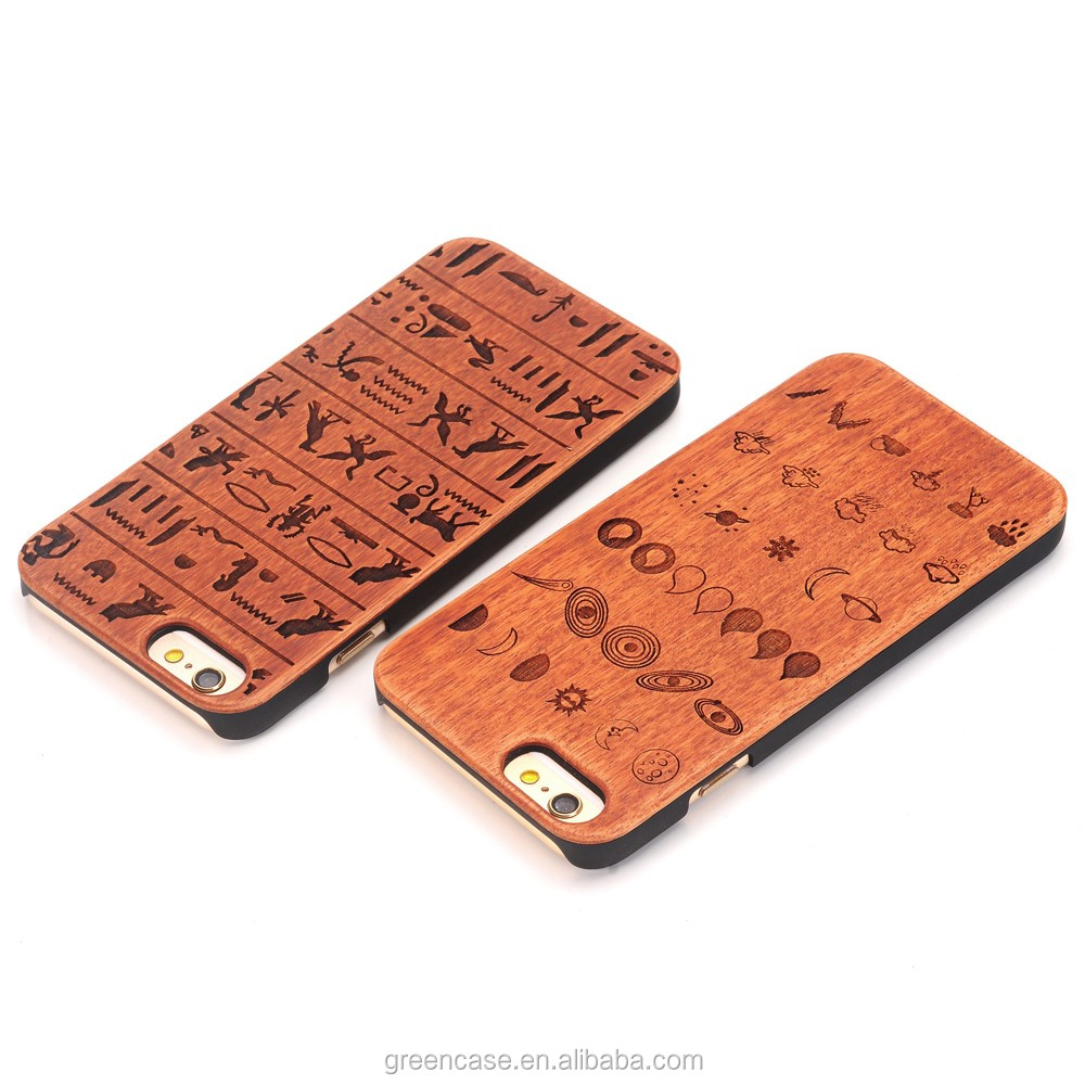 Scented Wood+PC Mobile Phone Cases for Iphone6/6s